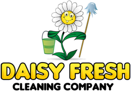 Daisy Fresh Cleaning Company Mobile Logo